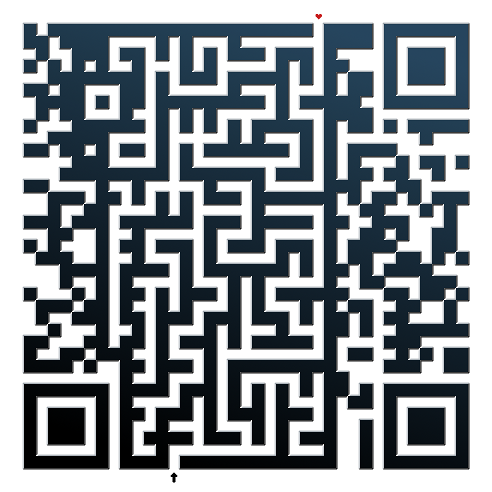 working labyrinth qr code