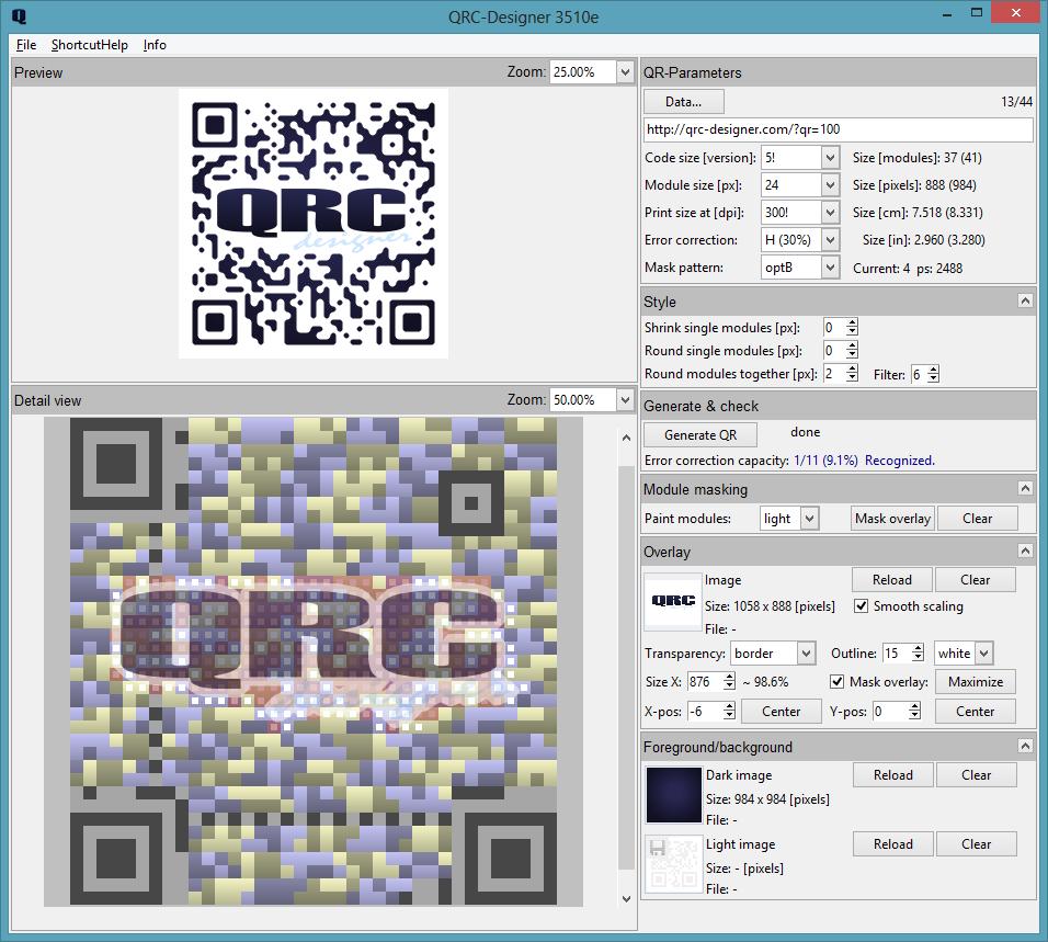 Qrc Designer Qr Code Design Software Design Qr Codes Mit